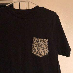 Cheetah pocket tee